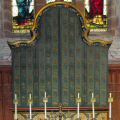 High Altar reredos closed