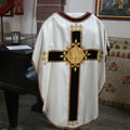 Fr Taggart's chasuble