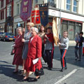 Rogation Sunday 2002 procession in Lord Street