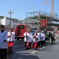Rogation Sunday 2003 procession in Lord Street
