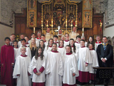 King Williams College Choir June 2014