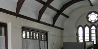 View of upper hall when used for dance classes
