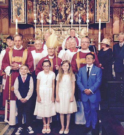 Patronal Festival and confirmation 2015 with Bishop Glyn